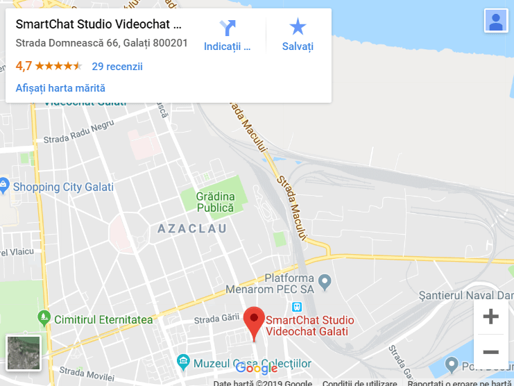 studio-videochat-galati-locatie